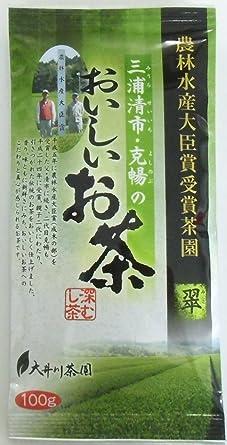 大井川茶園 三浦清市・克暢のおいしいお茶 翠 100g