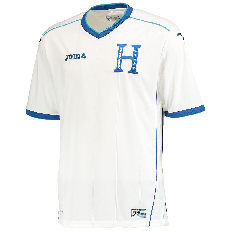 ホマ 2014 ホンジュラス ホーム レプリカユニフォーム ホワイト B00ITR826AインポートXL