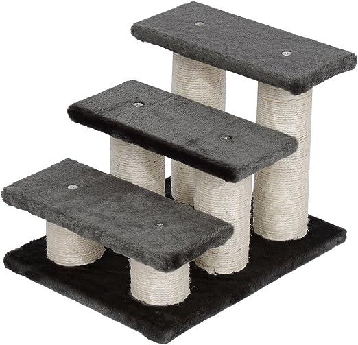 Pawhut® Animales Gato Escaleras Escalera Escalera Escalera para Perros y Gatos y Perros 3 Niveles (Modelo 4): Amazon.es: Productos para mascotas