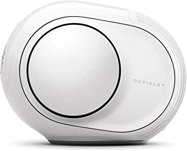 Devialet Phantom Devialet Phantom Reactor 600 Wireless Speaker, Powerful WiFi and Bluetooth Speaker with 600 Watts Power and 95dB Sound, White, (PA511)