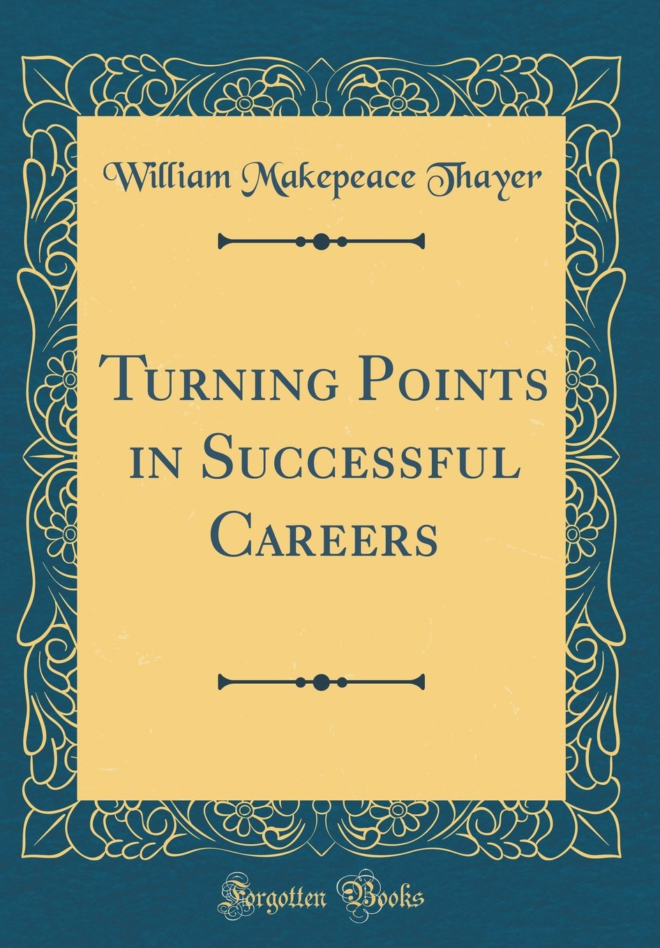 Download Turning Points in Successful Careers (Classic Reprint) pdf
