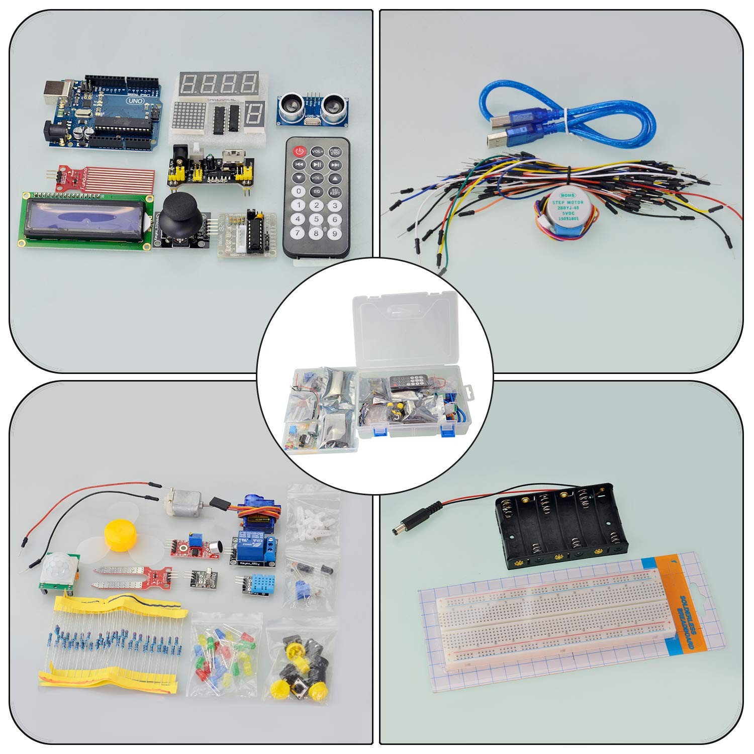 Seesii Uno R3 Super Starter Kit For Arduino With 140 Pieces Basic Electrical Wiring Free Pdf Practical Components