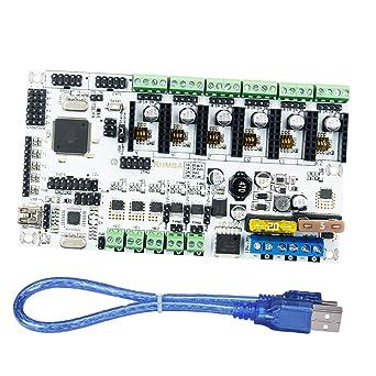 Baoblaze Tablero de Control con Cable USB diseñada para Mecanizado ...