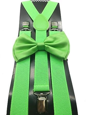 Amazon.com: CAL Color Verde Boda Accesorios ajustable lazo ...
