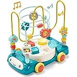 hahaland Bead Maze Shape Sorter Music Light Baby Toys 6 to 12-18 Months Baby Einstein Toddler Boy Girl Toys Age 1-2 Kids Gift