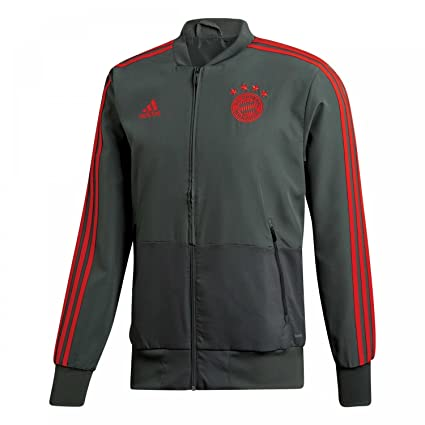 9fe10db53c22 Amazon.com : adidas 2018-2019 Bayern Munich Presentation Jacket ...