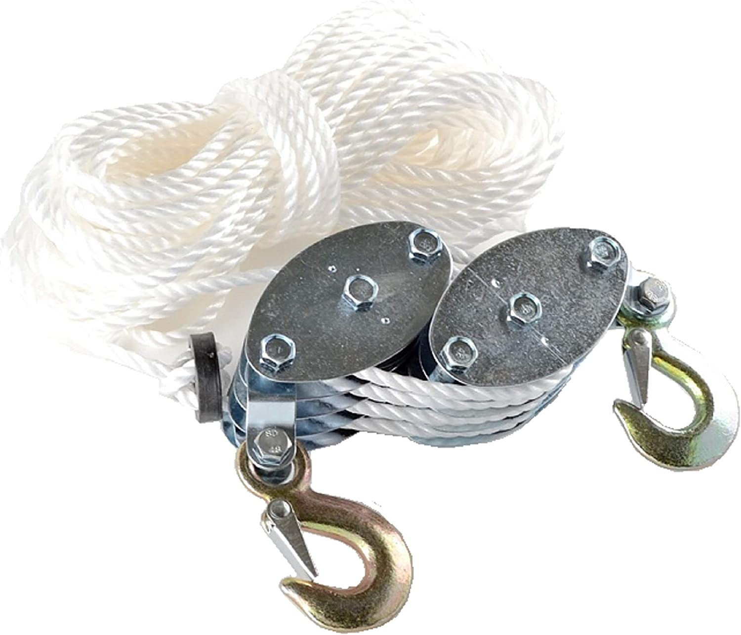 2pcs Metal pulley The movable pulley  Hanging wheel Crane wheel
