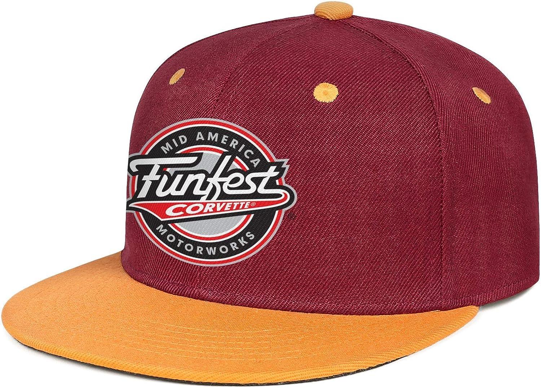 Baseball Cap Popular Hip Hop Caps Sport Hat Cool Snapback Hat Mens Trucker Hats sdfjkoinj Man Mens Corvette-Logo-Symbol