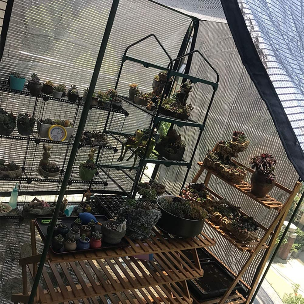 WDXJ Wintergarten Isolierung Schatten net Balkon Sonnencreme net Aluminiumfolie net Schatten net Balkon Dach Gartendach 75/% Size : 1x1M