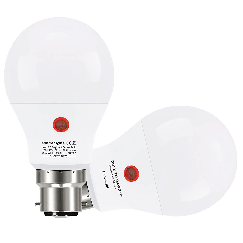 Sensorlampe Glühlampe Dämmerung Zum Morgengrauen Energie Sparen B22 E27 Auto