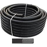 AquaForte Teichschlauch, Teich-/Spiralschlauch, 40 mm, 1 1/2 Zoll, schwarz, Meterware