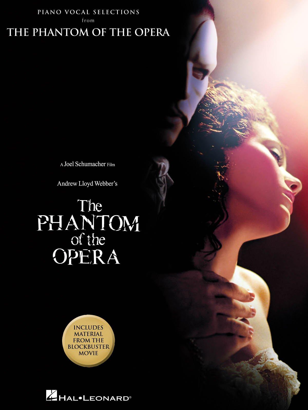 The Phantom Of The Opera Movie Selections Pianovocalguitar