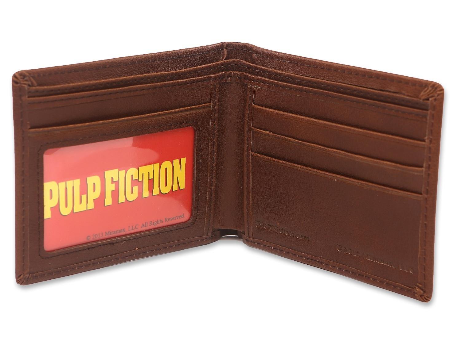 Set Pulp Fiction BMF - Póster y Cartera marrón de cuero: Amazon.es: Hogar
