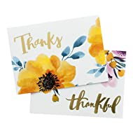 Thank You Notes - Watercolor Floral