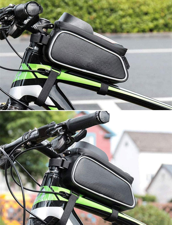 Bolsa for cuadro de bicicleta, portaobjetos for bicicleta, soporte ...