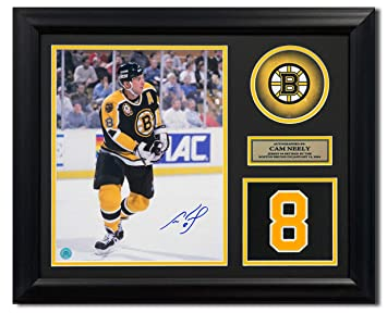 Cam Neely Boston Bruins Autographed Autograph Retired Jersey Number 23x19  Frame - Certificate of Authenticity Included c1998fede