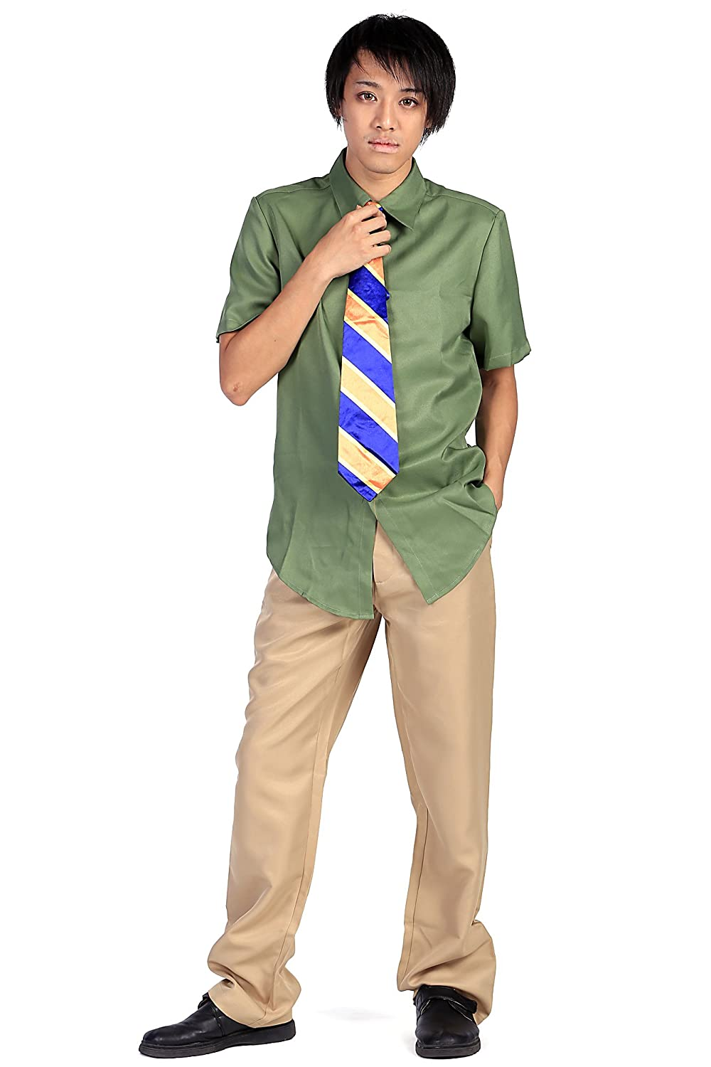 De-Cos Cosplay Costume DMV Officer Three-Toed Sloth Flash Outfit Set V1