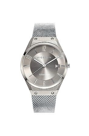 Viceroy Reloj Analogico para Mujer de Cuarzo con Correa en Acero Inoxidable 42316-17: Amazon.es: Relojes