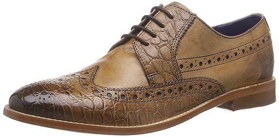 Melvin & Hamilton Amelie 20, Derby femme Beige Beige (Croco Tortora, Crust Beige, LS), 37: : Chaussures et Sacs