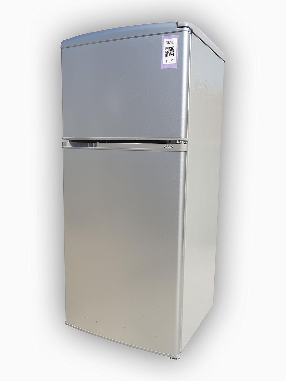 アクア 109L 2ドア冷蔵庫(直冷式)アーバンシルバーAQUA AQR-111F-S B01N4E83RP