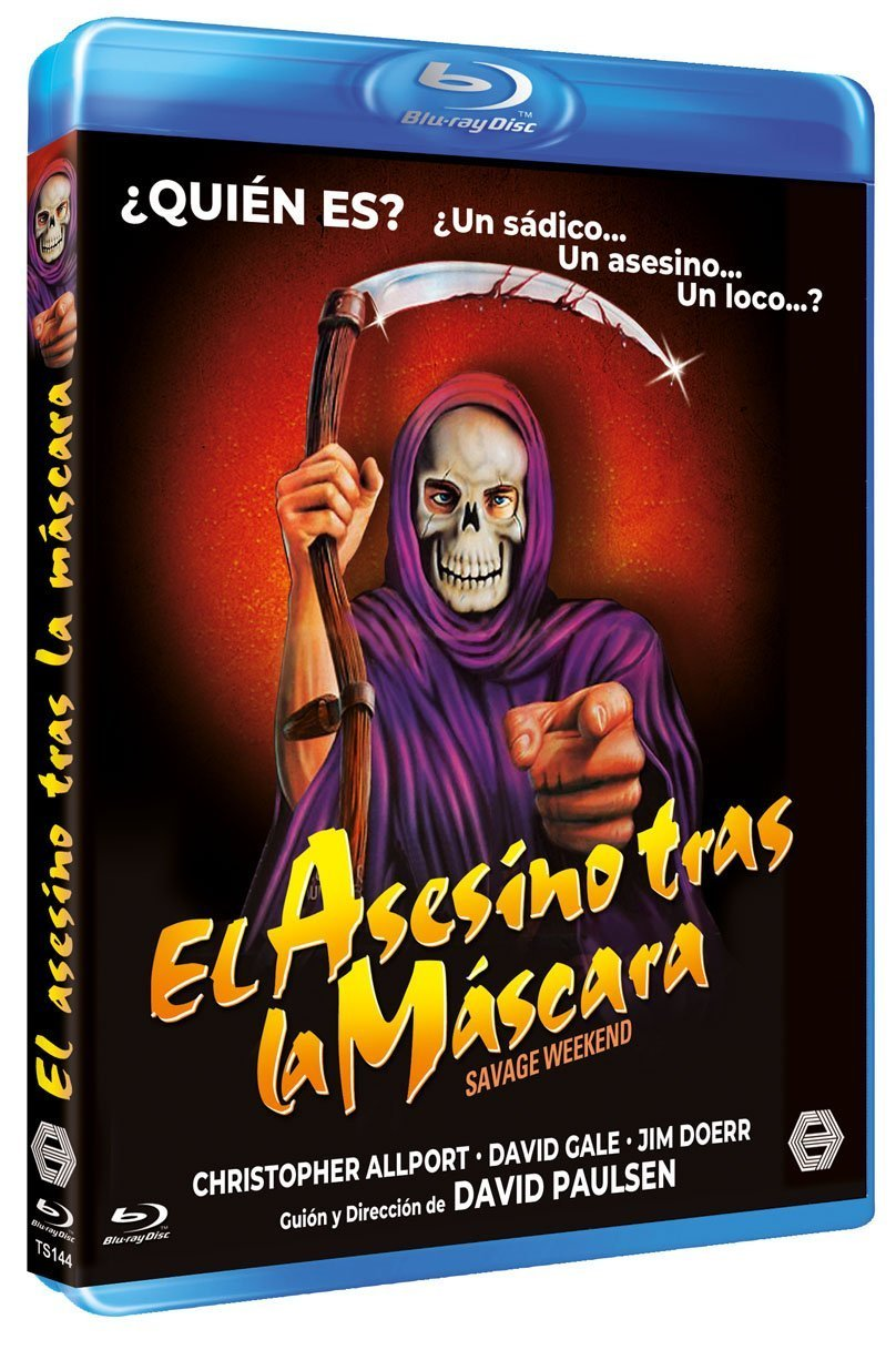 El Asesino tras la Máscara [Blu-ray]: Amazon.es: Christopher Allport, Jim Doerr, David Gale, Devin Goldenberg, Marilyn Hamlin, Caitlin OŽHeaney, ...