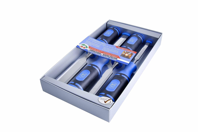 8 mm Kirschen 1156000 B/édane avec manche en Charme Rouge//Argent