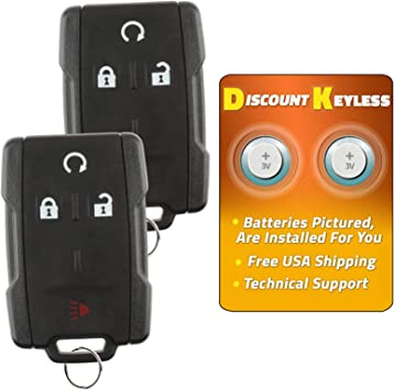 Discount Keyless Replacement Remote Start Key Fob Car Remote Compatible with M3N-32337100 2 Pack LYSB01LW48HUG-ELECTRNCS