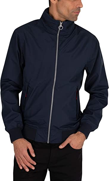 miseria Leonardoda Limpiamente  Timberland Men's Sailor Bomber Jacket Blue: Amazon.de: Bekleidung