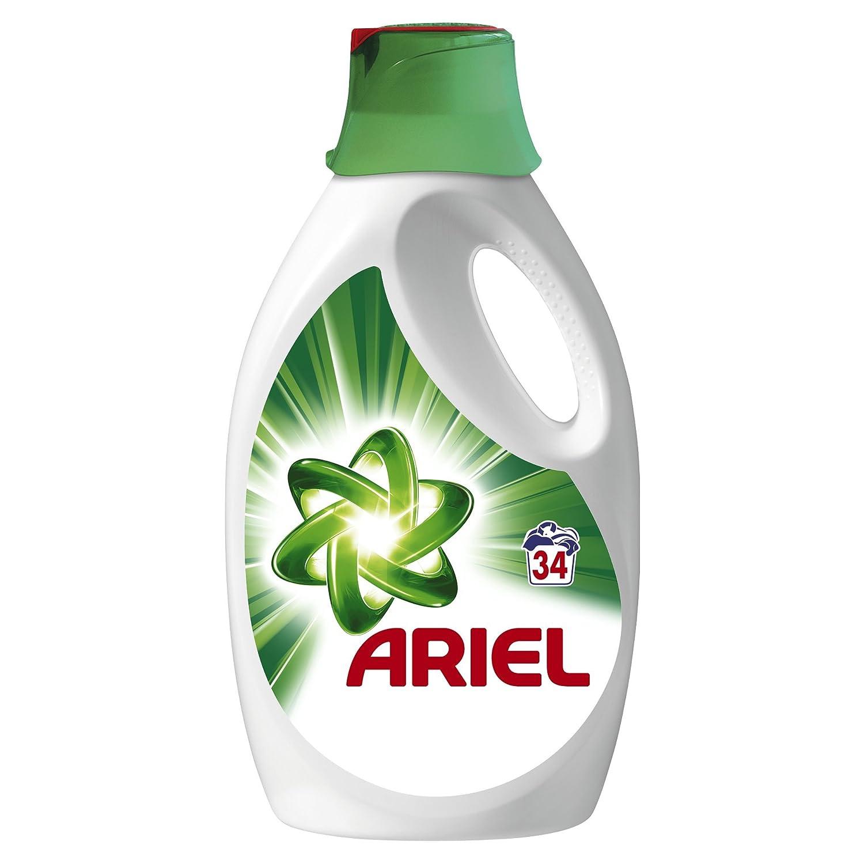 Ariel lavandería líquido Regulier 34 lavados) 2210 ml – juego de 2 ...
