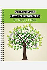 Brain Games - Sticker by Number: Stress Free Spiral-bound