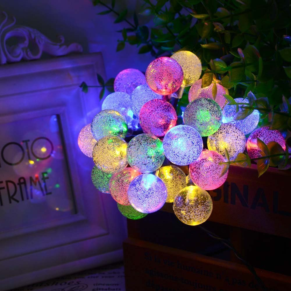 garden lighting in lamps decor from christmas outdoor string item original lights decorations solar starfish fairy holiday led decorative