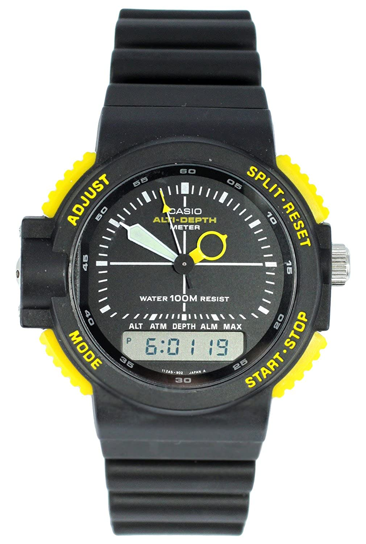 298417ccc704 Casio Men s Watch XL Analogue Digital Quartz Rubber ARW 320  Amazon.co.uk   Watches
