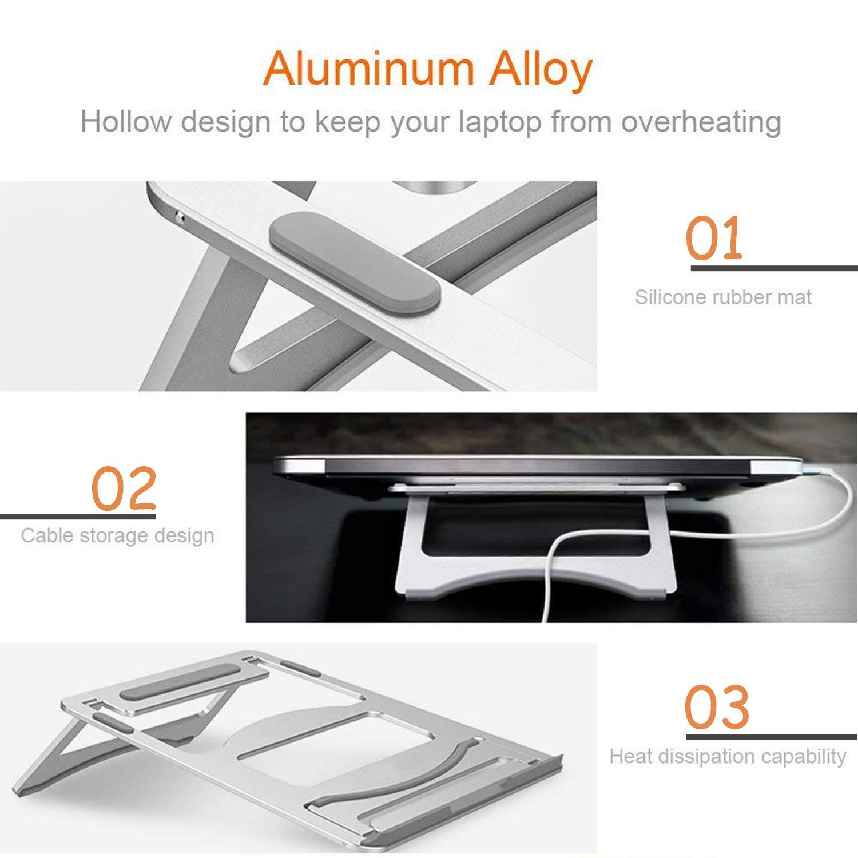 wivarra Soporte para Portátil de Aluminio, Soporte 11\