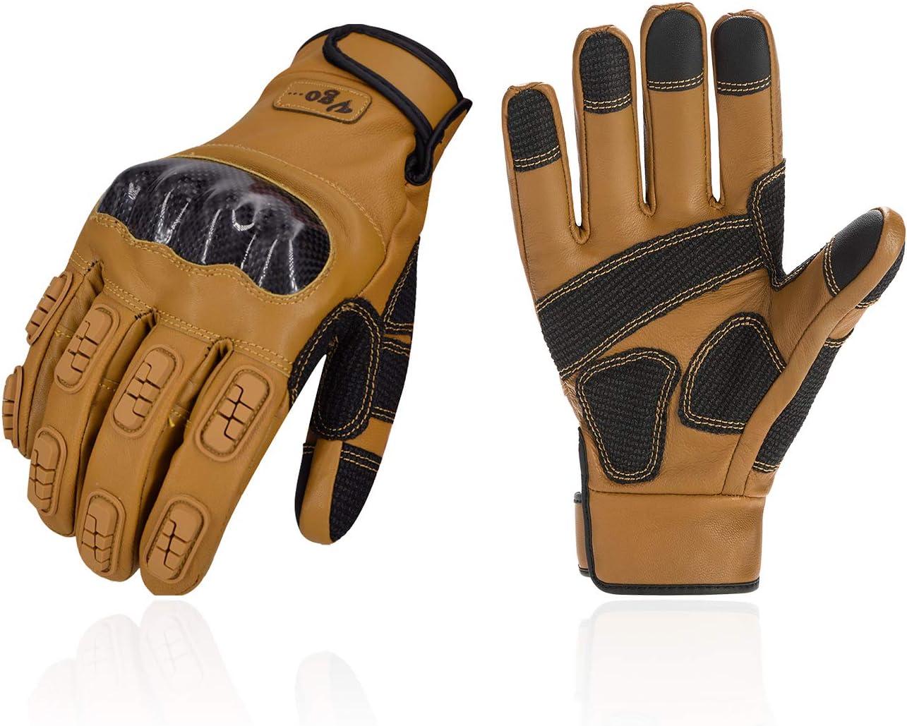 VTT et Randonn/ée Ecran-Tactile Articulation Dure GA9638HL V/élo Vgo Gants Doigt Complet pour Moto