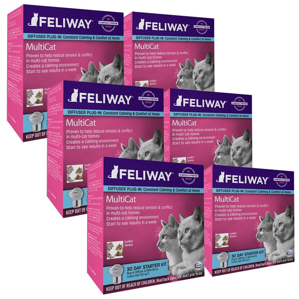 CEVA Animal Healt Multicat Feliway Refill (6 Pack)