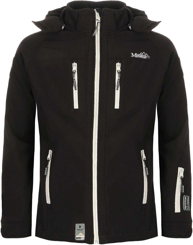 4XL NOAA Marikoo Herren Softshell Jacke Funktion Regen Outdoor Winterjacke S