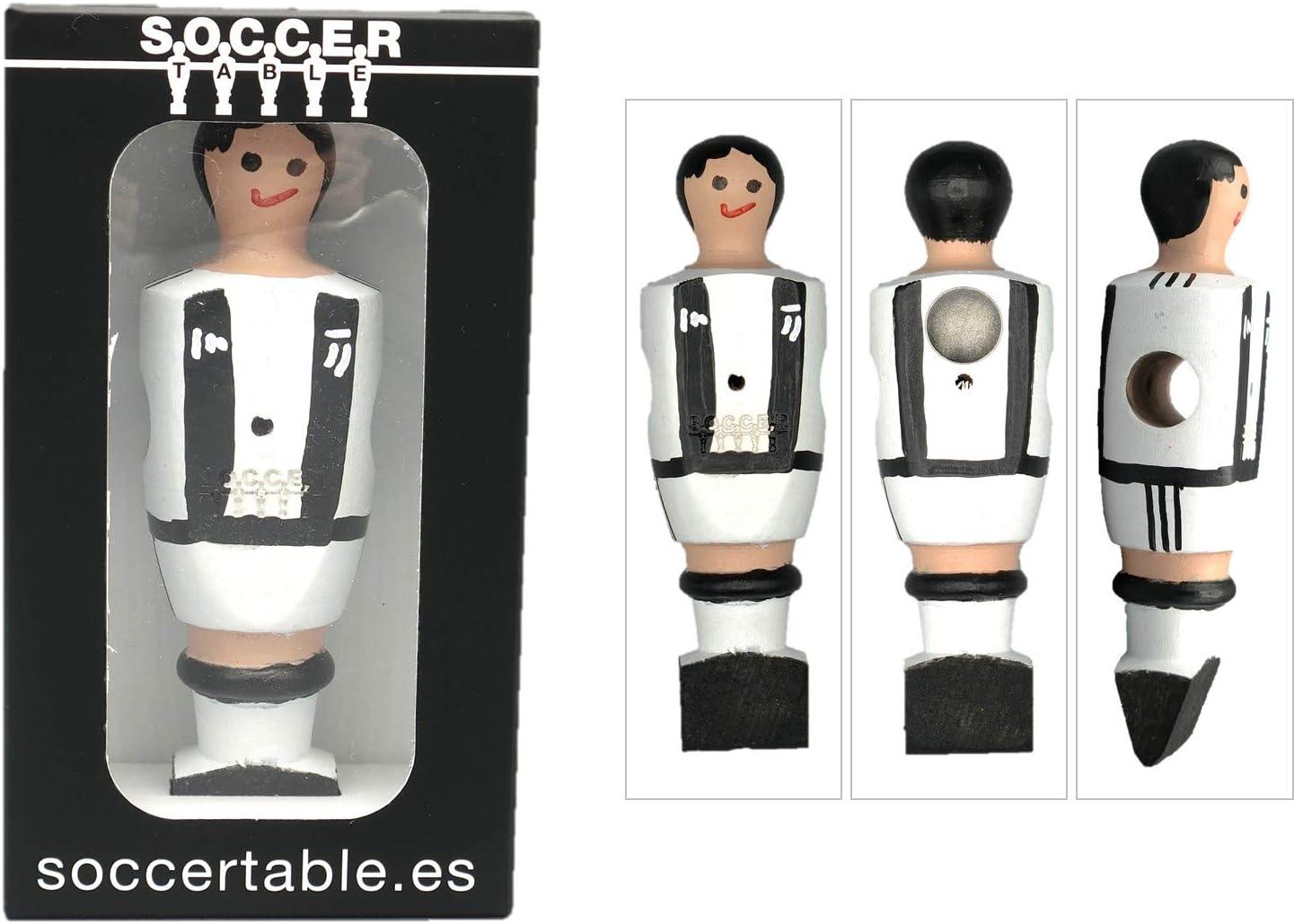 Soccer Table SL Individual Jugador de Futbolín Juve con imán ...