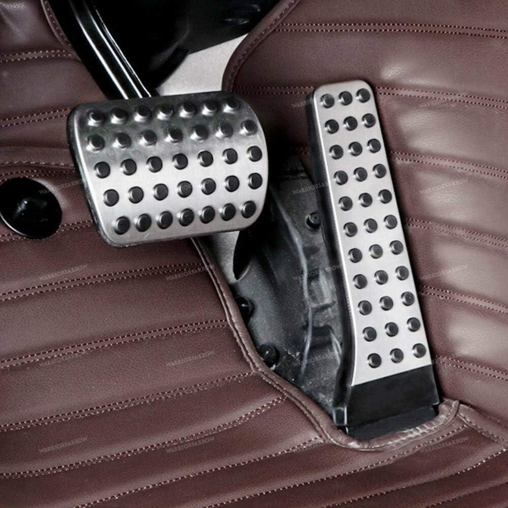 DANDELG Car Accelerator Brake Gas Pedal Cover,For Mercedes-Benz C-Class E-Class S-Class GLC-Class CLS-Class
