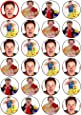 24 Mr Tumble Cupcake Toppers