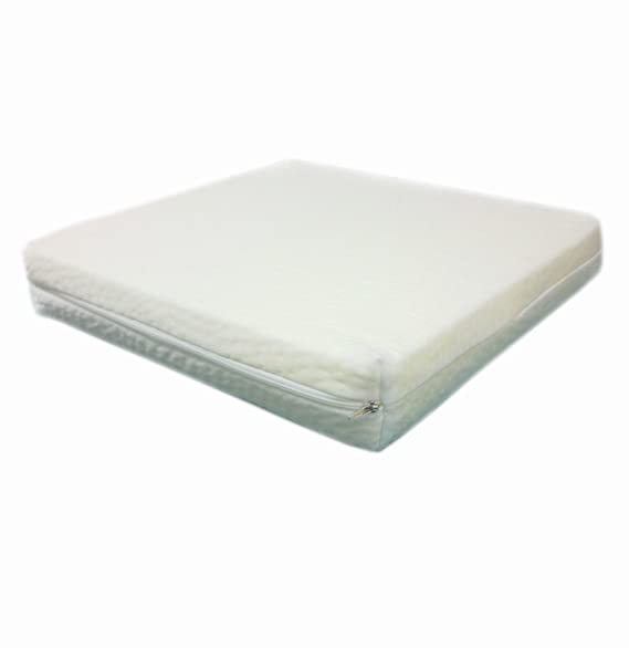 Dibapur ® Silla de Ruedas cojín Visco (Aprox. 45 cm x 40 cm ...