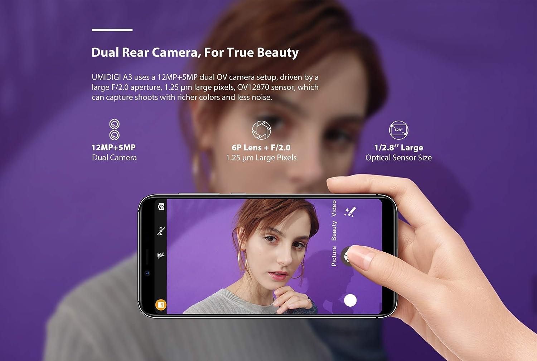 UMIDIGI A3 Smartphones Libres Diseño Moderno: Amazon.es: Electrónica