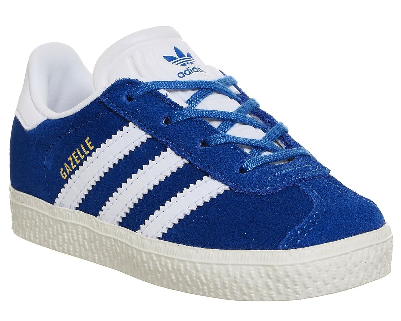 Adidas Kinder-Gazelle bb2511 Trainer Einheitsgröße blau weiß