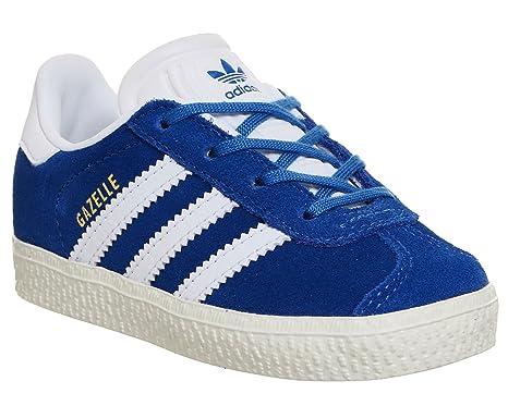 new product 3b79e c7940 adidas, Gazelle BB2511 Sneaker, Bambino, B-BB2511 6.5, Blue
