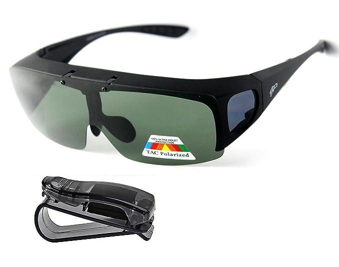 Amazon.com: Ajuste más de anteojos de conducción anteojos de ...