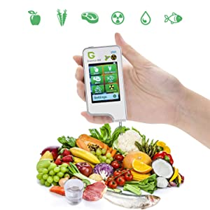Greentest Portable Digital Nitrate Tester Food Radiation Detector Geigor Counter Water TDS Meter Tester for Fruit,Vegetable,Meat,Fish,Water