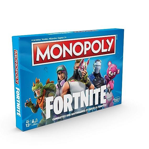 Monopoly Fortnite Juego De Tablero E6603 Amazon Es Juguetes Y