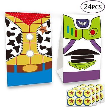 Amazon.com: 24 bolsas de regalo inspiradas en la historia de ...
