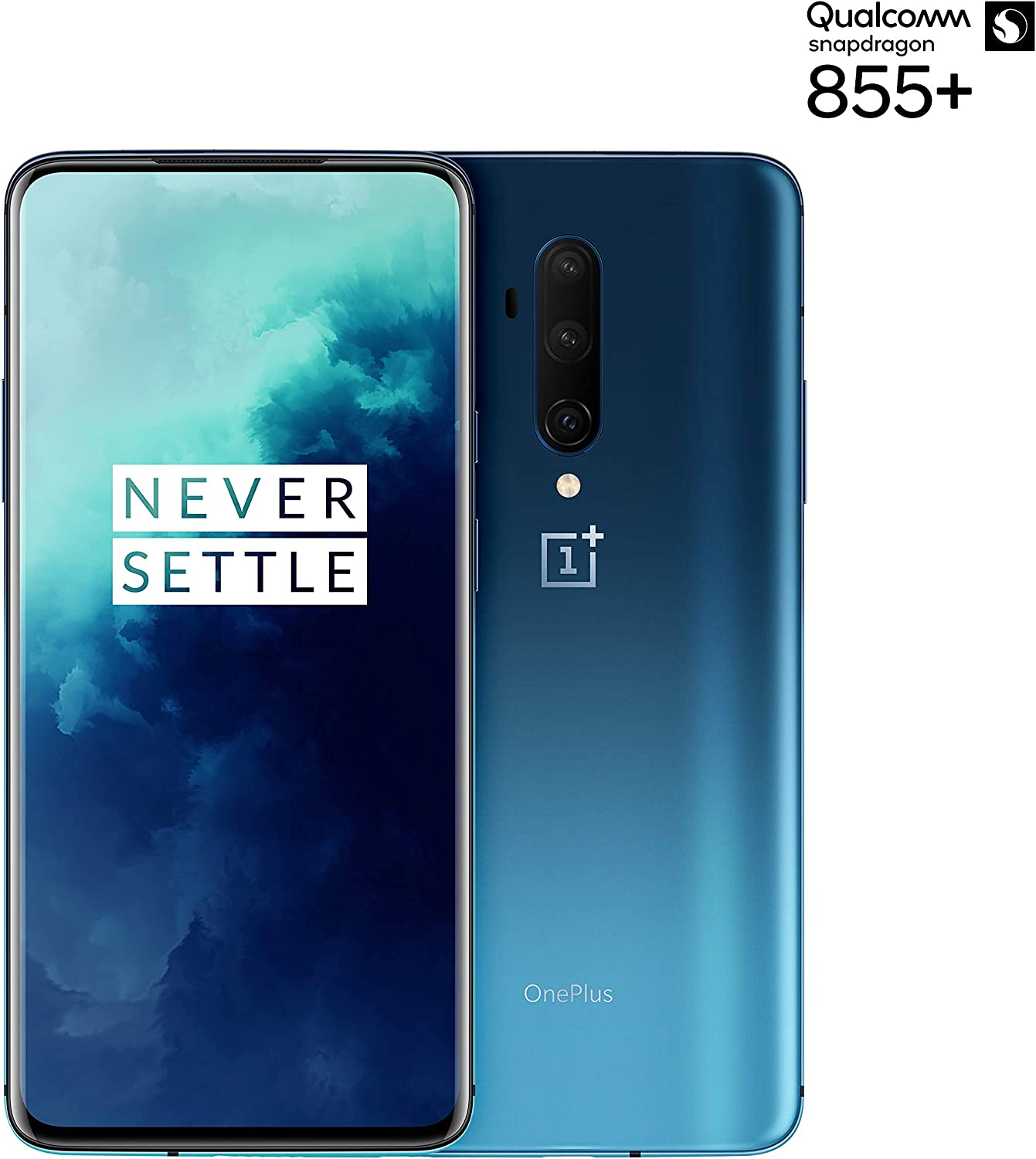 OnePlus 7T Pro, Pantalla AMOLED de 90Hz, 8GB RAM + 256GB de Almacenamiento, Triple Cámara + Pop-Up Cámara, Warp Charge 30T, Bluetooth, Android, 16.9