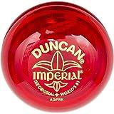 Duncan Toys Imperial Yo-Yo, Beginner Yo-Yo with String, Steel Axle and Plastic Body, Red