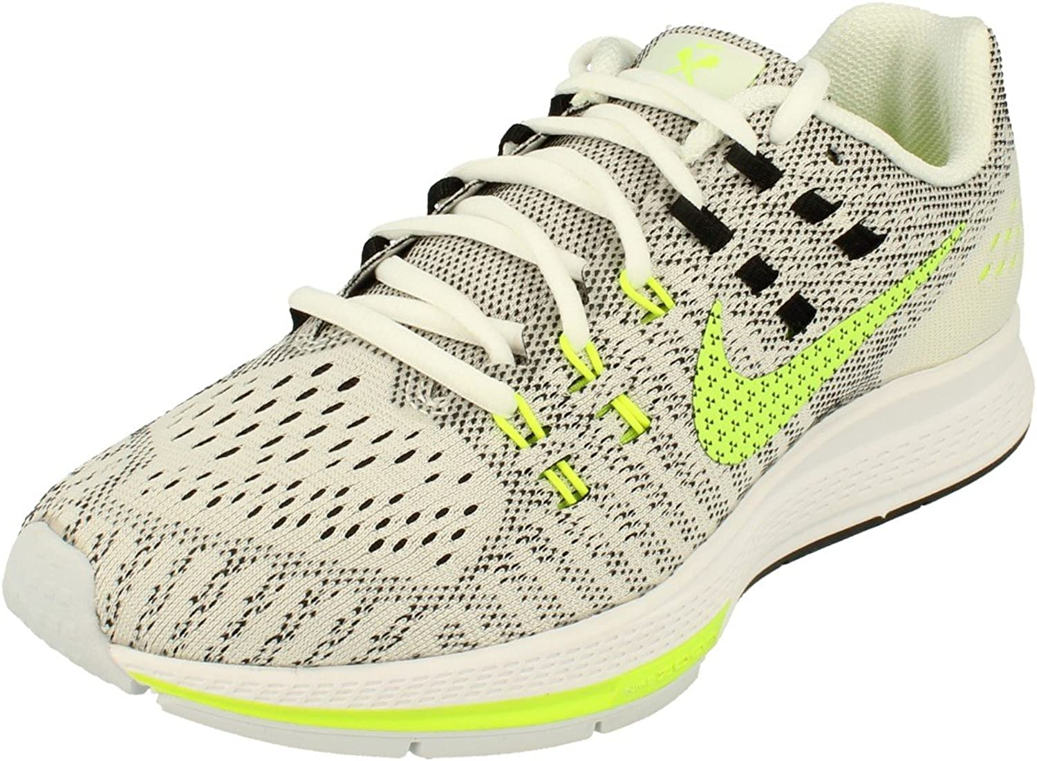 Nike Wmns Air Zoom Structure 19 CP, Zapatillas de Running para Mujer, Blanco (White/Volt-Black), 37 1/2 EU: Amazon.es: Zapatos y complementos